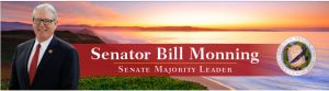Banner from State Senator Bill Monning's Website